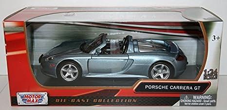 Amazon.com: Porsche Carrera GT , metallic-light blue, Model Car, Ready-made, Motormax 1:24: Motormax: Toys & Games