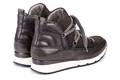 Sneaker Fashion Leather 6647C1 Women's Shoes Mundaka Lead W0J Pikolinos TUSxw0