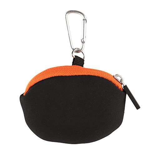 eecoo Small Carrying Case for Action Camera GoPro, Sports Action Camera and Accessories Bag, 4.3 x 3.5 inch