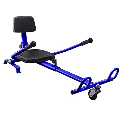 "Price comparison product image Hoverwalker III Go-Kart Conversion Kit for Hoverboards - Blue. Compatible with All Hoverboard and Self Balancing Scooter size 6.5"" - Adjustable - All Heights - All Ages by Nov8tech"