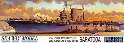 Fujimi 1/700 U.S. Aircraft Carrier Saratoga CV-3 [Toy] by Fujimi
