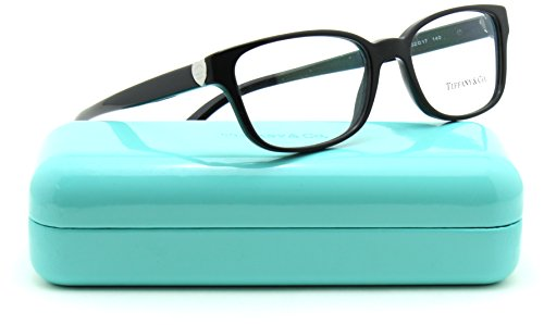 Tiffany & Co. TF 2122 Women Cat-Eye Eyeglasses RX - able Black (8001) - & Frames Glasses Tiffany Co