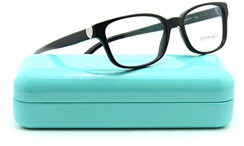 Tiffany & Co. TF 2122 Women Cat-Eye Eyeglasses RX - able Black (8001) - Cat Black Tiffany