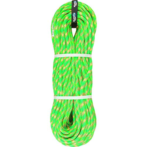 Blue Water Lightning Pro Double Dry 9.7mm Climbing Rope Green/Pink, 70m