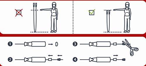 Amazon Basics Cylinder Jump Rope | Revista 21-15-9