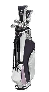 Knight Women's 12 Piece Complete Golf Set (Right Hand, Ladies Flex, Driver, 3 Fairway Wood, 4/5 Hybrid, 6-PW, Putter, Bag)