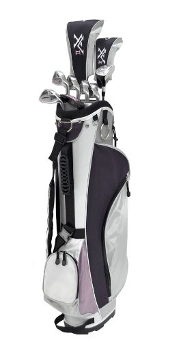 Knight Women's XV II Complete Golf Set (Right Hand, Ladies Flex, Driver, 3 Fairway Wood, 4/5 Hybrid, 6-PW, Putter, Bag) by Knight (Image #2)