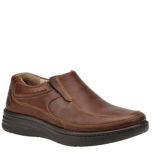 Drew Shoe Men's Bexley Loafers, Brown Leather, Polyurethane, 7.5 ()