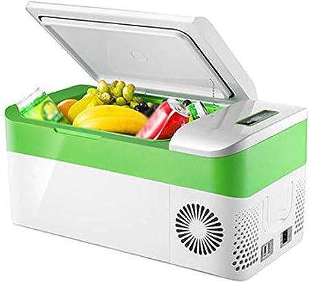 GWFVA Refrigerador para automóvil DC 12V Congelador termoeléctrico ...