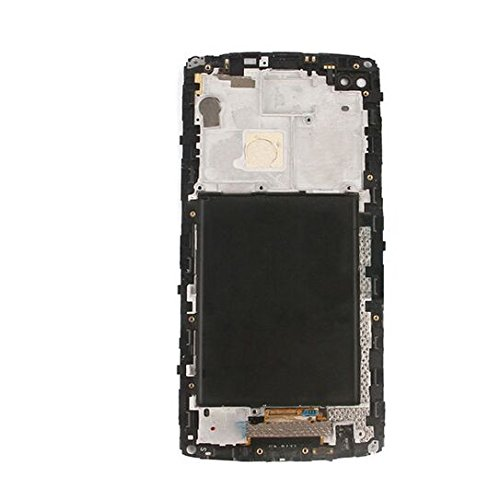 DANDELION For LG V10 H900 H901 VS990 Full LCD Display Touch Screen Digitizer Assembly+ Frame Replacement Part Tools (Black) by Dandelion (Image #1)