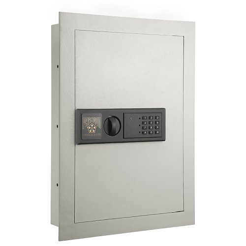 Paragon 7750 Electronic Wall Lock and Safe, .83 CF Hidden In Wall Large Safe (Safes Gun Wall)