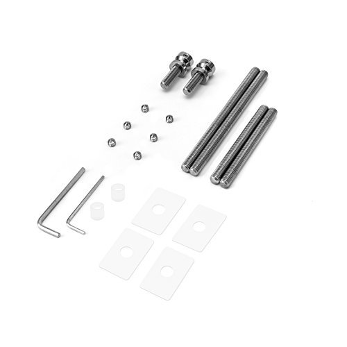 Red Anngo Universal 3//8/&9//16 400ml Aluminum Oil Catch Can Dual Cylinder Polish Baffled Engine Air Oil Separator Tank Reservoir Kit Breather Black Small Drain