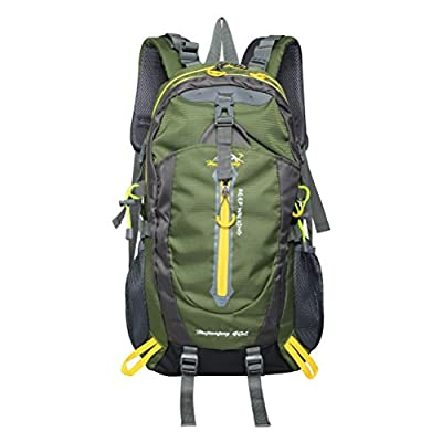 PioneerHiker 40L Casual Lightweight Water-resistant Hiking Backpack Daypack for Outdoor Hiking Camping Sports Travel Climbing
