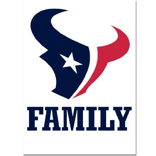 NFL Houston Texans Team Pride Auto Decal