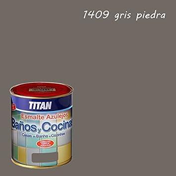 pintura para azulejos baos y cocinas titan ml gris piedra