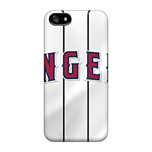 Iphone 5/5s SUB2377llxn Support Personal Customs Lifelike Los Angeles Angels Pattern Bumper Phone Case -JasonPelletier