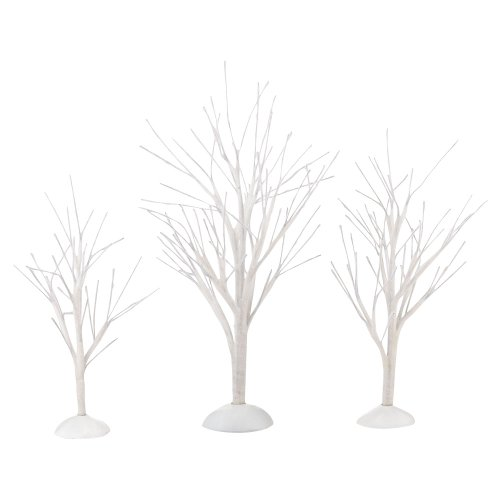 Department-56-Decorative-Accessories-for-Village-Collections-White-Bare-Branch-Trees-197-Inch-Set-of-3