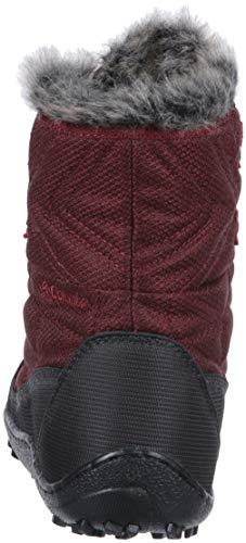 Minx Marsala Santa Rust Women's Columbia Deep Shorty Fe Ankle III Boot Red R7BFxZ