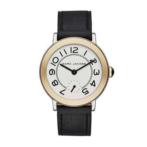Riley Black Leather Watch - MJ1514 ()