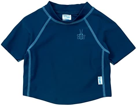 4T Toddler Short Sleeve Rashguard Shirt Navy I-Play