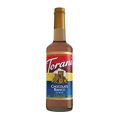 Torani® Chocolate Bianco (White Chocolate) Syrup by Torani Classic Flavored Syrups