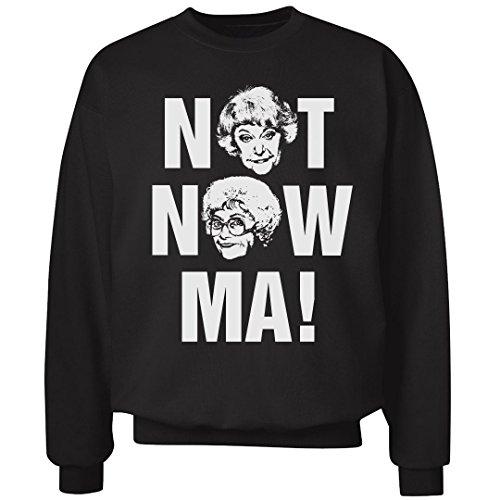 - Not Now Ma!: Unisex Ultimate Crewneck Sweatshirt