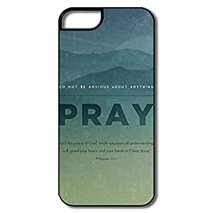 Favorable Pray Plastic Cover For IPhone 5/5s