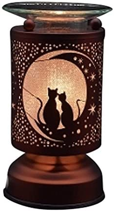 Vista Electric Touch Fragrance Aromatherapy Lamp Oil Warmer Cats
