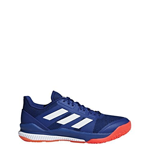 the best attitude 14bee 1199e Adidas Stabil Bounce Shoe Men s Handball 12.5 Mystery Ink-White-Solar Red