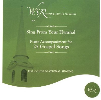 CD 25 Gospel Songs-Piano Accompaniment V1 by Worship Service (2007-08-03) by Worship Service