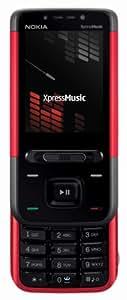 Nokia 5610 XpressMusic - Teléfono Móvil Libre - Rojo
