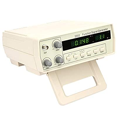 Signal Generator Counter, VC2002 Multi-Functional DDS Waveform Function Generator Frequency Meter 0.2Hz~2MHz 100-240V(US Plug)