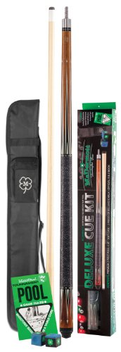 Stick Pool Mcdermott Billiard Cue (McDermott Deluxe Pool Cue Kit)