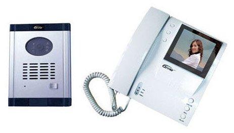 Genway Video Door Phone CM-06DNd Doorbell Intercom Security System for Villa (B/w Video Doorbell)