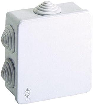 Famatel 3002 - Caja derivación estanca 80x80 pg16 presión: Amazon.es: Bricolaje y herramientas