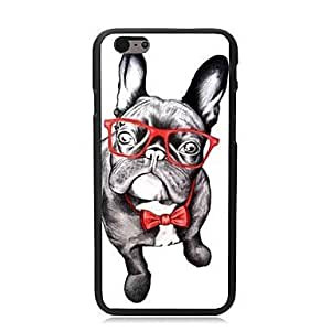 For iPhone 5 5S Case, Fashion A Lovely Dog Pattern Protective Hard Phone Cover Skin Case For iPhone 5 5S +Screen Protector
