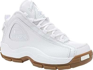 Fila Men's 96,White/White/Gum,US 7 M