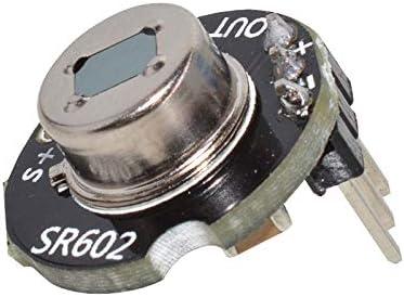 Naliovker Sr602 M/ódulo Detector De Sensor De Movimiento Interruptor Sensorial Infrarrojo Piroel/éctrico Con Alta Sensibilidad