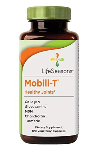 LifeSeasons - Mobili-T - Joint Pain Relief Supplement - Rebuild Joint Tissue - Healthy Knee and Back Support - Contains MSM, Collagen, Chondroitin - (120 Capsules)