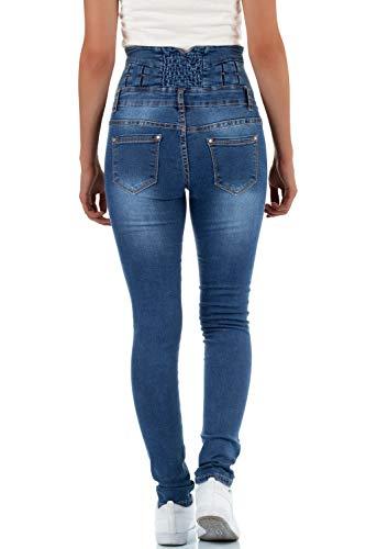 Skinny Femme Jeans Skinny malucas Femme malucas malucas Jeans Bleu Bleu qwt1x68fx