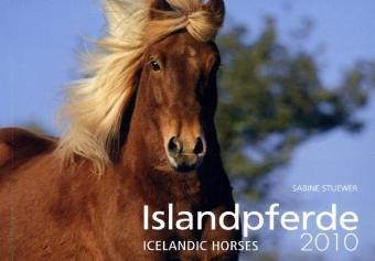 Weingarten-Kalender Islandpferde 2010