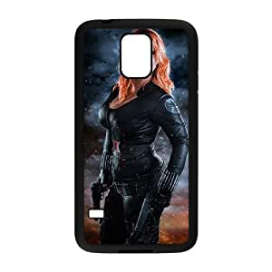 Samsung Galaxy S5 Cell Phone Case Black Black Widow Custom Phone Case Cover For Men CZOIEQWMXN1619