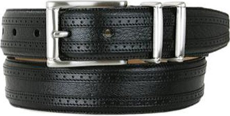 Mezlan Men's 8594 Belt Black 36