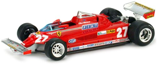 IXO La Storia SF28/81 - Ferrari 126C Nr.27 G.Villeneuve GP GP GP Monaco 1981 ca39a4