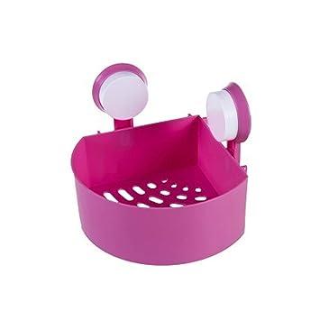 Conditioner Idesign Plastic Suction Shower Caddy Basket For Shampoo Crea Soap