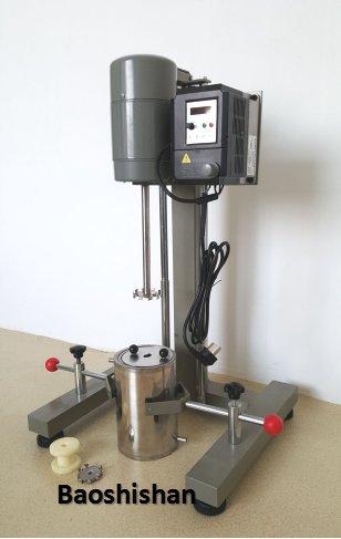 JFS-550 frequency conversion brushless dispersing machine digital display high speed dispersion machine Lab mixer