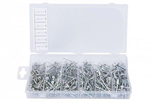 Blue Spot 40596 Assorted Rivets - Silver (320-Piece) BlueSpot Tools