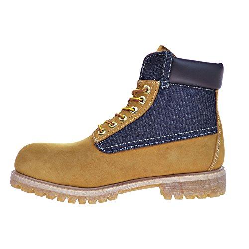 Levi S Harrison Men S Boots Buck Wheat Denim 516435 11b