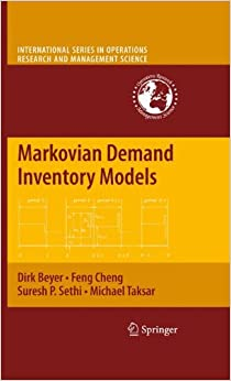 Markovian Demand Inventory Models (International Series in Operations Research & Management Science)