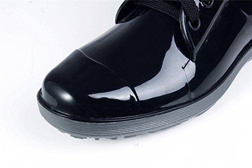 Homme AgeeMi Adulte Shoes Mixte Talon Lacets TopImperméable Bottes High Bas qwgCTw